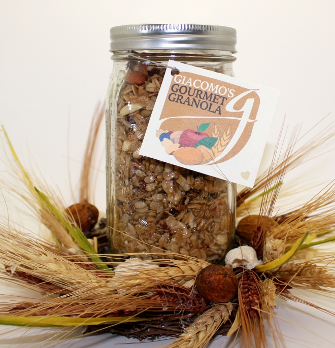 TOTALLY NUTS GRANOLA #2
